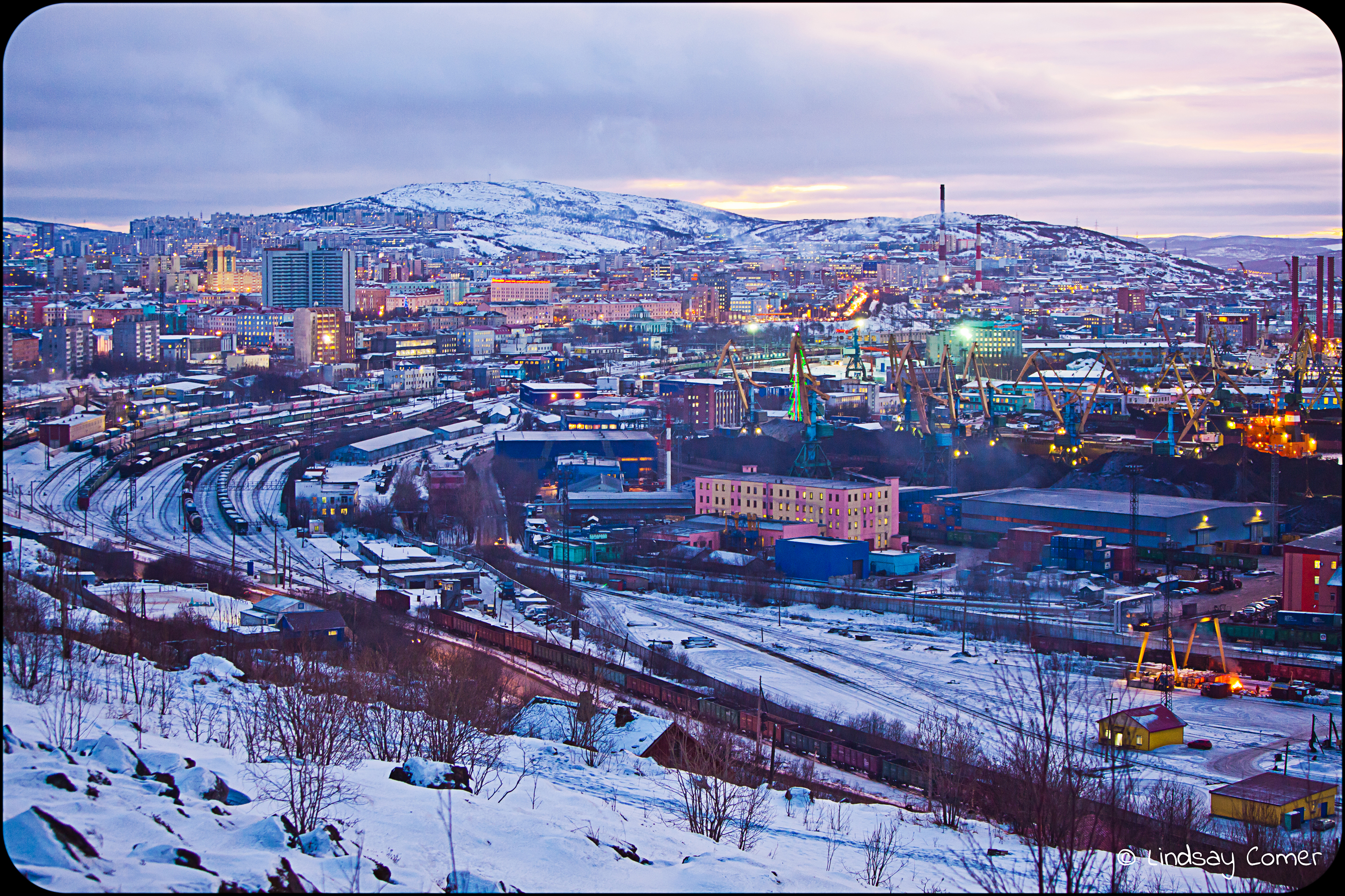"Murmansk, Russia: Part Three ""the hike to Alyosha"" 