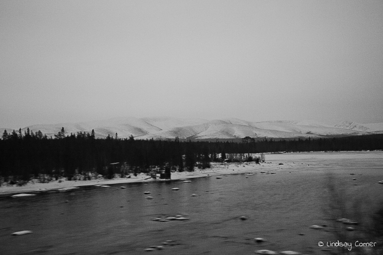 Nothingness - on the way to Murmansk.