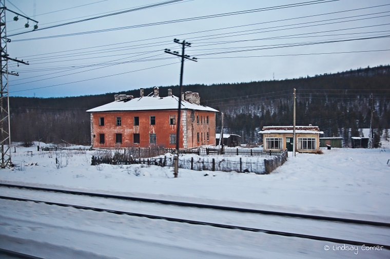Somewhere in Russia; on the way to Murmansk.
