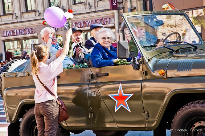 Victory Day Parade; Saint Petersburg, Russia, 2011.
