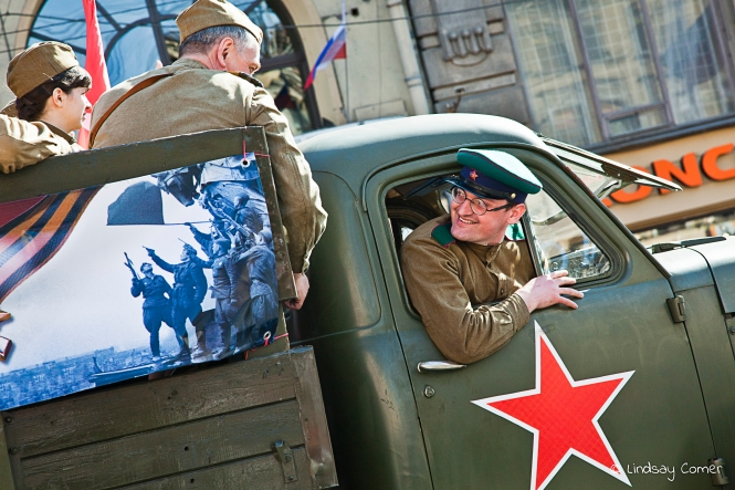 Victory Day Parade, Saint Petersburg, Russia, 2011.