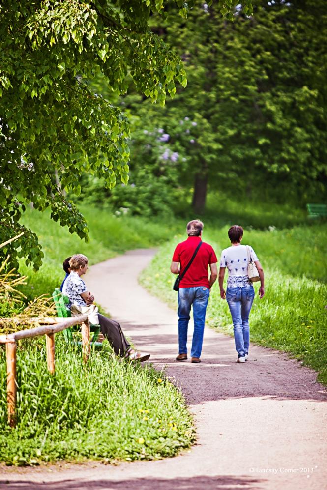 Pavlovsk Park.