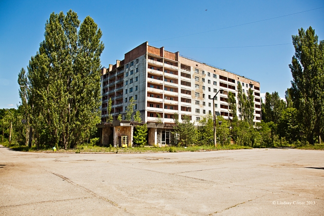 empty block-style housing.