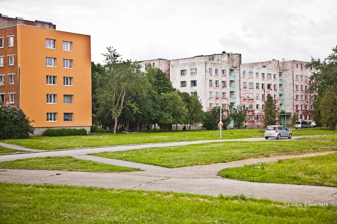 this is either in Jõhvi, or another town between Jõhvi and Aseri.