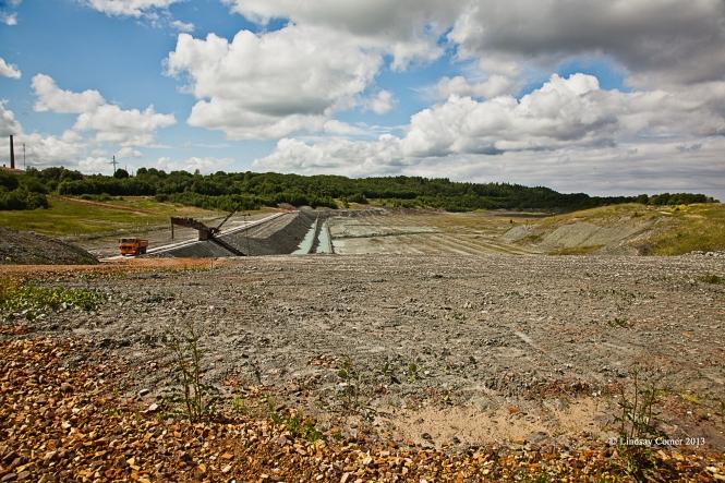 the clay mine in Aseri, Estonia.