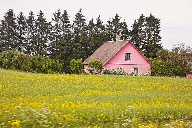 a countryside home in Ida-Viru.