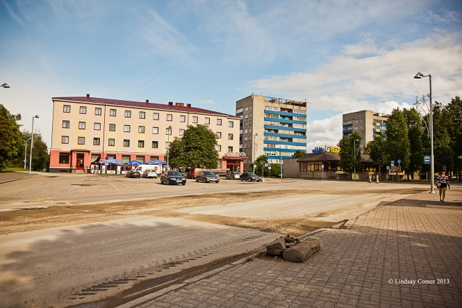 In Narva, Estonia.