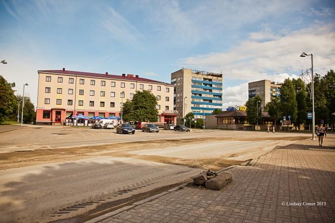 In Narva, Estonia.