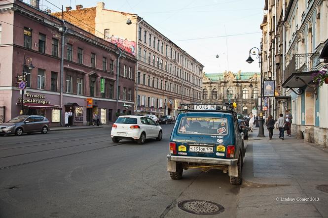 Belinskogo ulitsa (street).