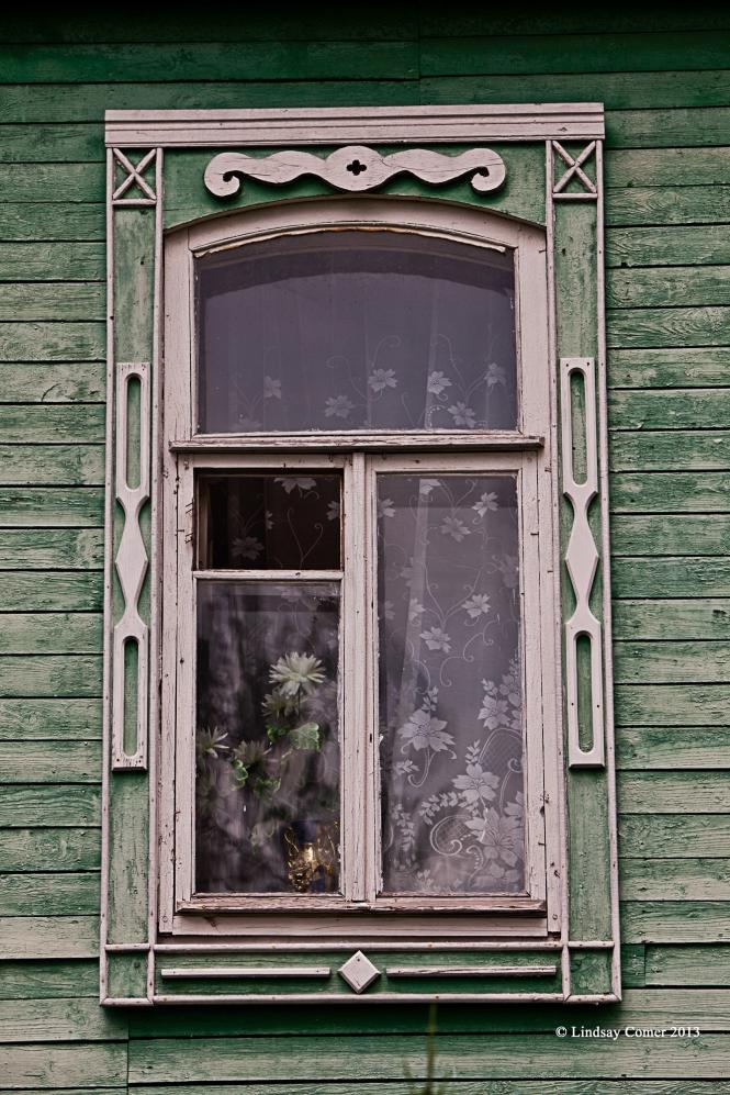quintessential Russian window.