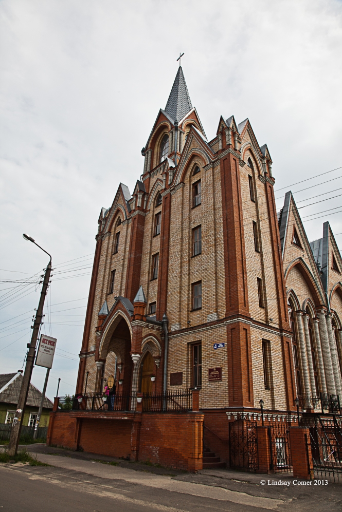 Luba's parents' church in Seltso, Russia.