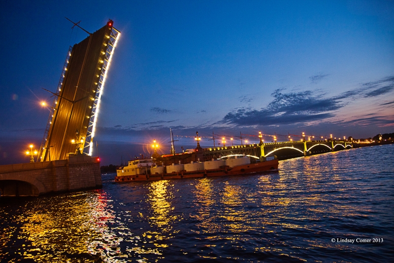 Troitskiy bridge.