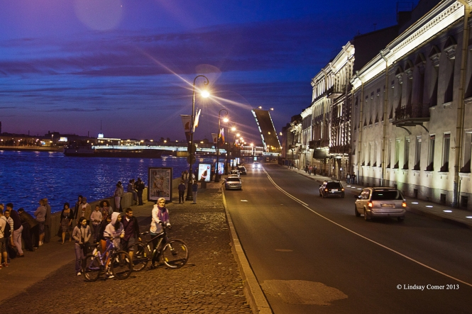 Dvortsovaya (palace) embankment.