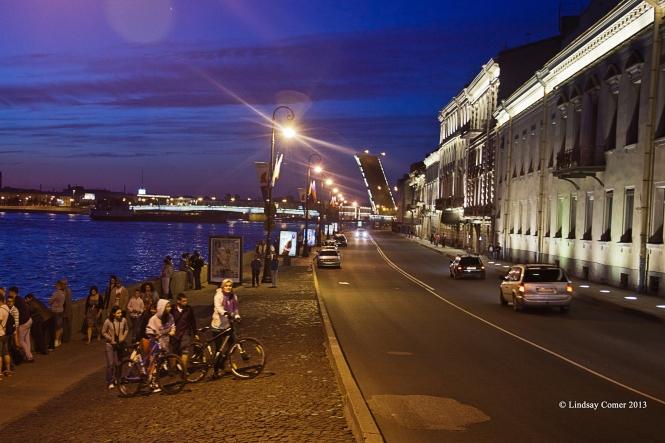 Dvortsovaya (palace) embankment.