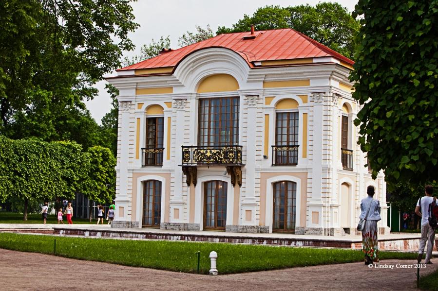 the Hermitage Pavilion.